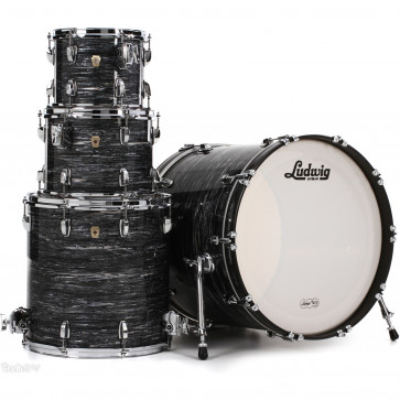 LUDWIG L88204AX1Q CLASSIC MAPLE STAGE22 VINTAGE BLACK OYSTER