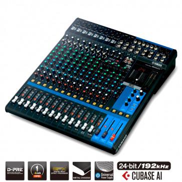 YAMAHA MG16XU Console de mixage 16 canaux Multi-effets