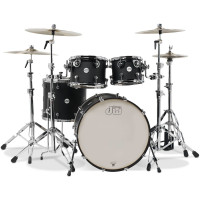 DW DESIGN STAGE22 4FUTS BLACK SATIN