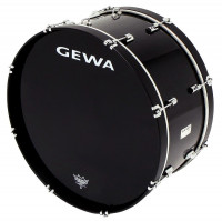 "GC GEWA MARCHING 22"" X 10"" PEUPLIER (4,9 kg) - BLACK -"