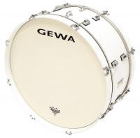 """GC GEWA MARCHING 22"""" X 10"""" PEUPLIER (4,9 kg) - WHITE SATIN -"""