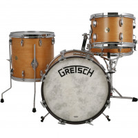 GRETSCH BROADKASTER USA JAZZ18 4FUTS VINTAGE SATIN CLASSIC MAPLE