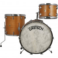 GRETSCH BROADKASTER USA JAZZ18 3FUTS VINTAGE SATIN CLASSIC MAPLE