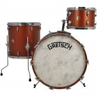 GRETSCH BROADKASTER USA JAZZ18 3FUTS VINTAGE SATIN COPPER