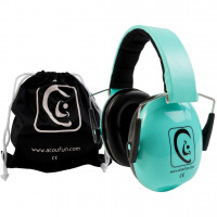 ACOUFUN HP25 CASQUE JUNIOR ATTENUATEUR GREEN