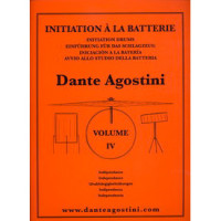 DANTE AGOSTINI METHODE DE BATTERIE VOL.4