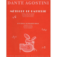 DANTE AGOSTINI METHODE DE BATTERIE VOL.5