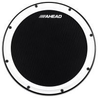 "AHEAD AHSHP PRACTICE PAD 14"" MARCHING FIBRE CARBONE WHITE"