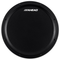 "AHEAD AHSHPB PRACTICE PAD 14"" MARCHING FIBRE CARBONE BLACK"