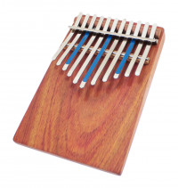 KALIMBA AMI HUGH TRACEY JUNIOR CELESTE PENTATONIC 11 NOTES SUR TABLE