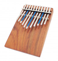 KALIMBA AMI HUGH TRACEY JUNIOR CELESTE PENTATONIC 11 NOTES SUR TABLE + PICKUP