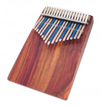 KALIMBA AMI HUGH TRACEY TREBLE CELESTE 17 NOTES SUR TABLE