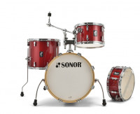 """SONOR AQX JAZZ 18""""/4PCS RED MOON SPARKLE"""