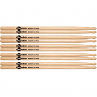 BAGUETTERIE 5B AMERICAN HICKORY OVAL TIP (5PCS)