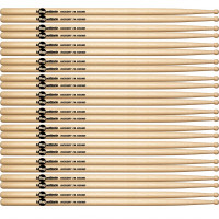 BAGUETTERIE 7A AMERICAN HICKORY ROUND TIP (12PCS)