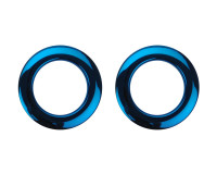"BASS DRUM O'S BDO-H2BL PROTECTION EVENT 02""(x2) BLUE"