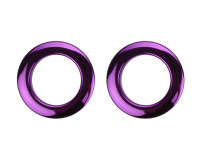 "BASS DRUM O'S BDO-H2PU PROTECTION EVENT 02""(x2) PURPLE"