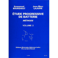 BOURSAULT LAJUDIE ETUDE PROGRESSIVE VOL.2