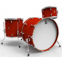 "BRITISH DRUM LEGEND 22""/3PCS BUCKINGHAM SCARLET"