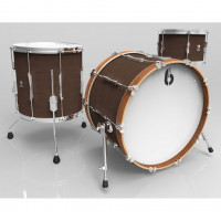 "BRITISH DRUM LOUNGE 22""/3PCS KESINGTON CROWN"