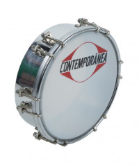 "CONTEMPORANEA PRO TAM02 TAMBORIM 06"" METAL 12 TIRANTS"