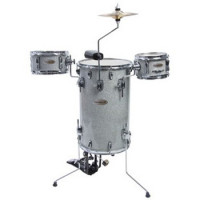 CAPELLE COCKTAIL DRUM SILVER SPARKLE