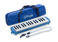 STAGG STA32BL MELODICA 32 NOTES  BLEU AVEC HOUSSE