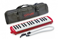 STAGG STA32RD MELODICA 32 NOTES  ROUGE AVEC HOUSSE