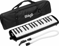STAGG STA32BK MELODICA 32 NOTES  NOIR AVEC HOUSSE