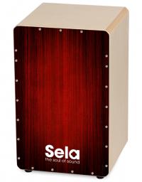 SELA SE-050 CAJON VARIOS RED