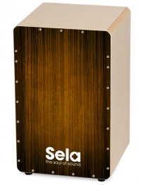 SELA SE-051 CAJON VARIOS BROWN