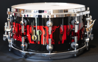 SONOR SQ2 14x07.5 HETRE MEDIUM RED TRIBAL STRIPE