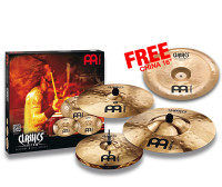 PACK MEINL CLASSICS CUSTOM EXTREME METAL + CHINA 16 LIMITED EDITION