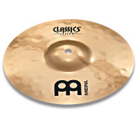 SPLASH MEINL 10 CLASSICS CUSTOM EXTREME METAL