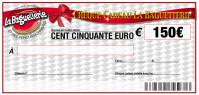 CHEQUE CADEAU BAGUETTERIE 150€