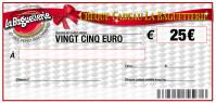 CHEQUE CADEAU BAGUETTERIE 25€
