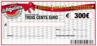 CHEQUE CADEAU BAGUETTERIE 300€