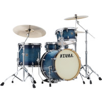 "TAMA SUPERSTAR CLASSIC 18""/4PCS BLUE LACQUER BURST"