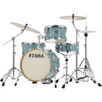"TAMA SUPERSTAR CLASSIC 18""/4PCS LIGHT EMERALD BLUE GREEN"