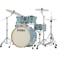 "TAMA SUPERSTAR CLASSIC 22""/5PCS LIGHT EMERALD BLUE GREEN"