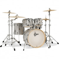 "GRETSCH CATALINA MAPLE 22""/5PCS SILVER SPARKLE"