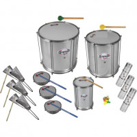 CONTEMPORANEA LIGHT PACK01 SAMBA 13 PCS