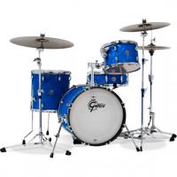 "GRETSCH CATALINA CLUB 18""/4PCS BLUE SATIN FLAME"