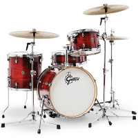 GRETSCH CATALINA CLUB JAZZ18 GLOSS CRIMSON BURST