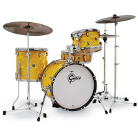 GRETSCH CATALINA CLUB JAZZ18 YELLOW SATIN FLAME