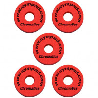 CYMPAD CHROMATICS 15MM PACK 5PCS RED