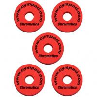 CYMPAD CHROMATICS 15MM PACK 5PCS RED