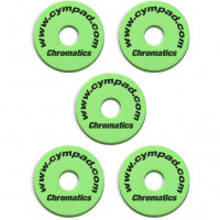 CYMPAD CHROMATICS 15MM PACK 5PCS GREEN
