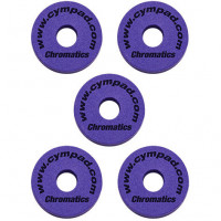 CYMPAD CHROMATICS 15MM PACK 5PCS PURPLE