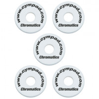 CYMPAD CHROMATICS 15MM PACK 5PCS WHITE
